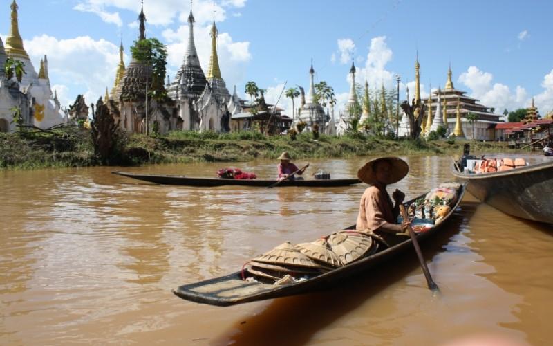 Nádherná, nedotknutá Barma