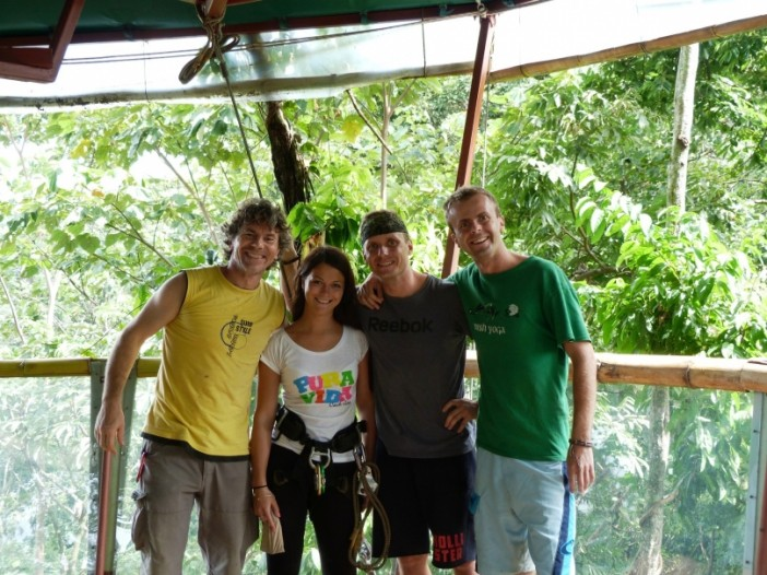 Slovenský dom na strome v Kostarike