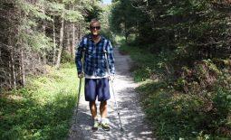 Skalisté hory v Kanade a barle k tomu