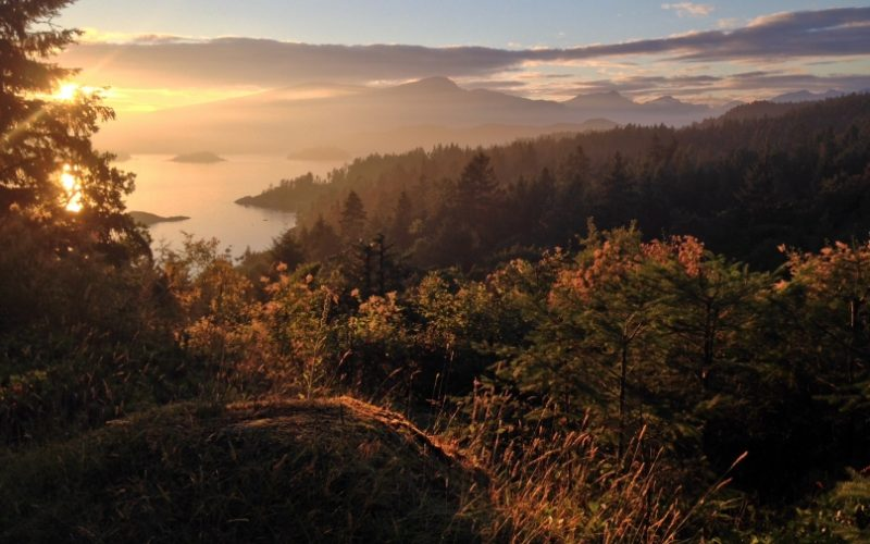 Najhoršie Značený Hike aneb Výstup na Mt. Gardner, Bowen Island, BC