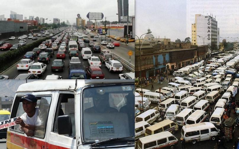Doprava v Lime