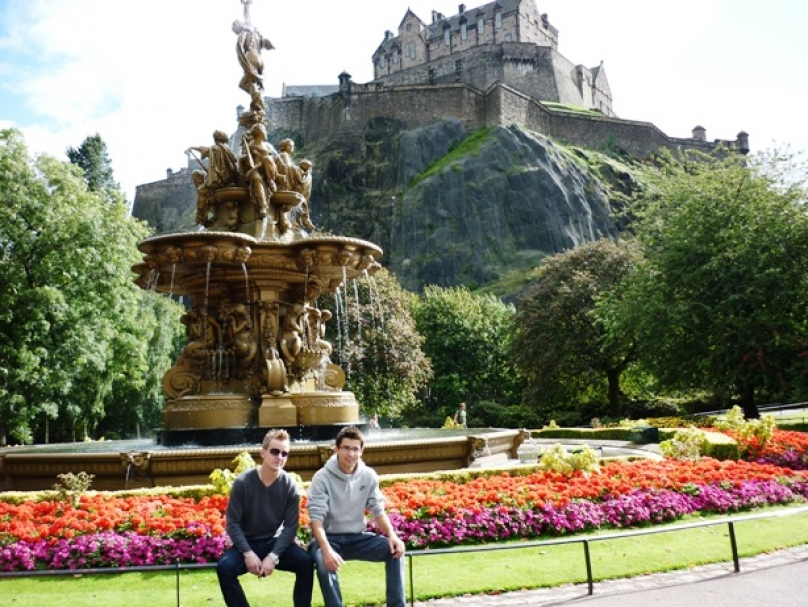 Na panáka do Edinburghu