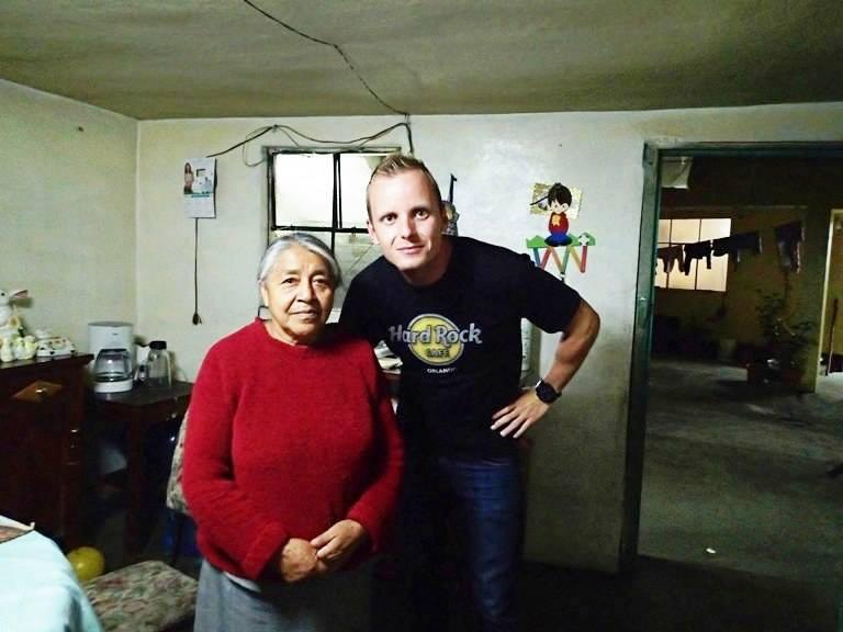 Rodina v Guatemale, kde som týždeň býval počas kurzu španielčiny