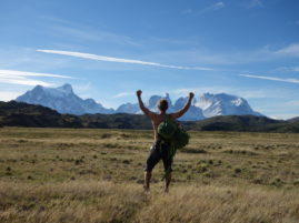 NP Torres del Paine, čerešna na torte