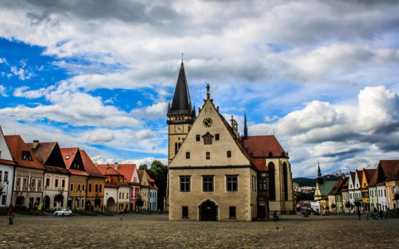 Navštívte Bardejov na severovýchode Slovenska