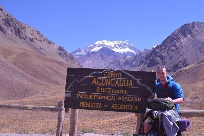 Výstup na horu Aconcagua s Tomášom
