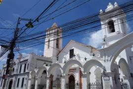 Sucre – biele, hlavné mesto Bolívie