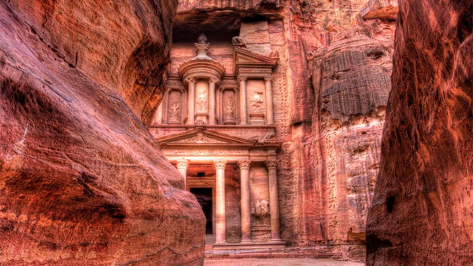Petra, nový div sveta v Jordánsku