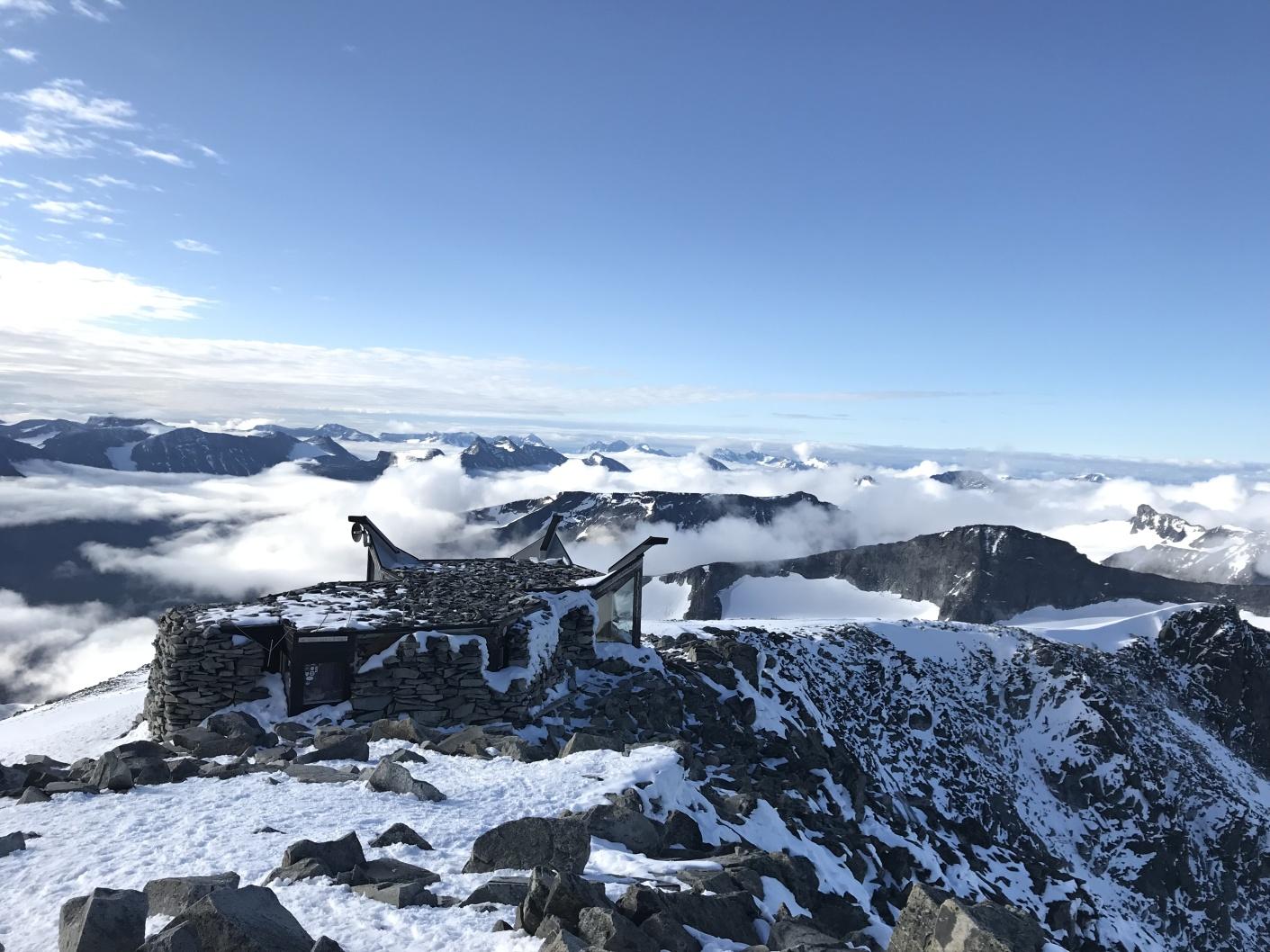 Galdhopiggen – výstup na strechu Nórska