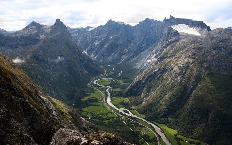 Romsdalseggen, najkrajšia túra