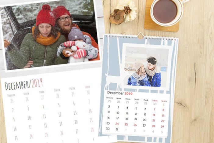 Kalendár s vlastnými fotkami – najlepší nápad na vianočný darček